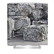 Aluminum Recycling Shower Curtain