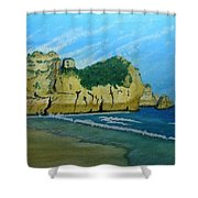 Alvor Praia's Shower Curtain