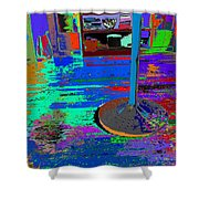 always at ease - Wellness Works - Glendale Shower Curtain