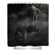 Always By Yourside Shower Curtain