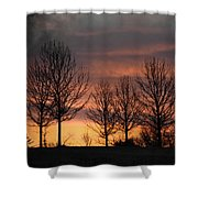 Always Darkest Before The Dawn Shower Curtain