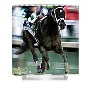 Always Dreaming, Johnny Velasquez, 143rd Kentucky Derby  Shower Curtain