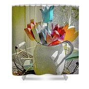 Always In Bloom Shower Curtain