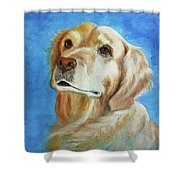 Aly Rose Shower Curtain