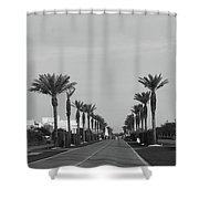 Alys Beach Entrance Shower Curtain