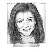 Alyson Hannigan Shower Curtain