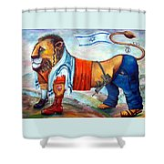 Am Israel Hay Shower Curtain