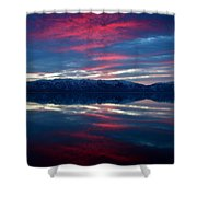 A.m. On Antelope Island Shower Curtain