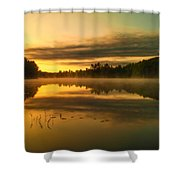 Am Whispers  Shower Curtain