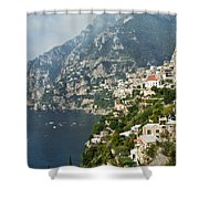 Amalfi Coast II Shower Curtain
