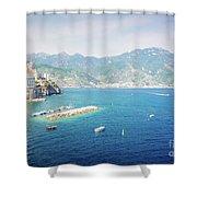 Amalfi Coast, Italy IIi Shower Curtain