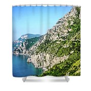 Amalfi Splendor Shower Curtain