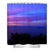 Amalfi Sunrise Shower Curtain