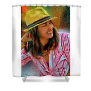 Jessica Mankin Shower Curtain