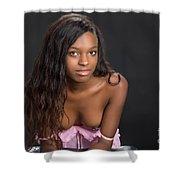 Amani African American Nude Sensual Sexy Fine Art Print 4961.02 Shower Curtain