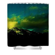 Amarelo Shower Curtain