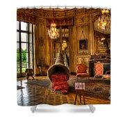 Amaryllis In The Castle, Belgium Shower Curtain