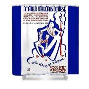 Amateur Magicians Contest Shower Curtain
