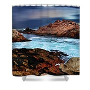 Amazing Coast Shower Curtain