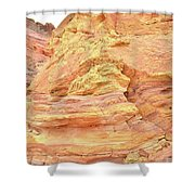 Amazing Color In Wash 3 - Valley Of Fire Shower Curtain
