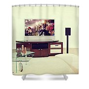 Amazing Home Theaters Systems Shower Curtain
