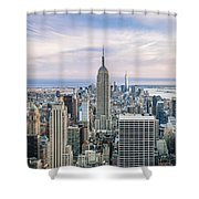 Amazing Manhattan Shower Curtain