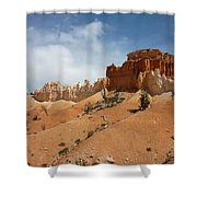 Amazing Mountains In National Park  Shower Curtain