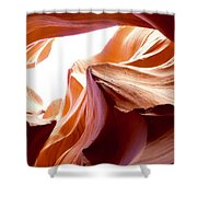 Amazing Rock Formations Shower Curtain
