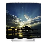 Amazing Sky Pier 60 Shower Curtain