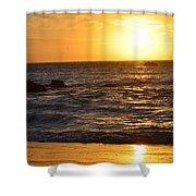 Amazing Sunset 230 Shower Curtain