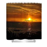 Amazing Sunset Shower Curtain
