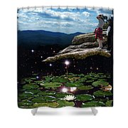 Amazing World Shower Curtain