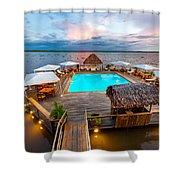 Amazon Swimming Pool Shower Curtain