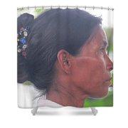 Amazon Woman Shower Curtain