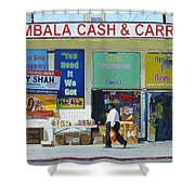 Ambala Cash And Carry Shower Curtain