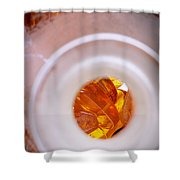 Amber #7848 Shower Curtain