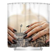 Amber 8 Shower Curtain