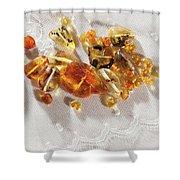Amber #8341 Shower Curtain