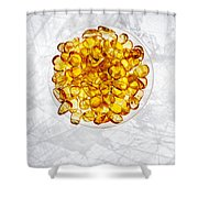 Amber #8743 Shower Curtain