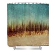 Amber And Blues Shower Curtain