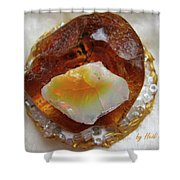 Amber And Ethiopian Opal Shower Curtain