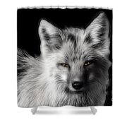 Amber Eyes Shower Curtain