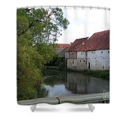 Amberg Shower Curtain