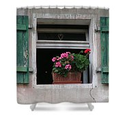 Amberg Window Shower Curtain