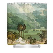 Ambleside Shower Curtain by Francis Towne