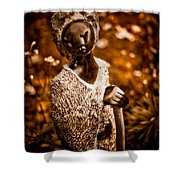 Ambuya Grandmother Shower Curtain