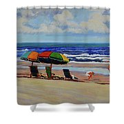 Amelia Afternoon Shower Curtain