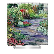 Amelia Park Blossoms Shower Curtain