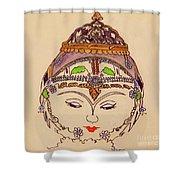 Amerat Goddess Of Flora Shower Curtain