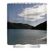 America Point Cinnamon Bay St John Usvi Shower Curtain